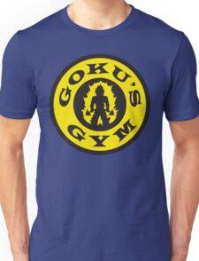Goku's Gym (Round Gold's Gym Logo Parody) Unisex T-Shirt