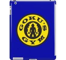 Goku's Gym (Round Gold's Gym Logo Parody) iPad Case/Skin