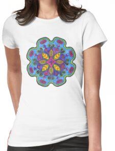 Bejewelled Mandala Womens Fitted T-Shirt