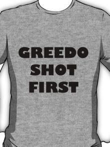 Greedo Shot First T-Shirt