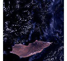 Socotra Island Yemen Arabian Sea Satellite Image Photographic Print