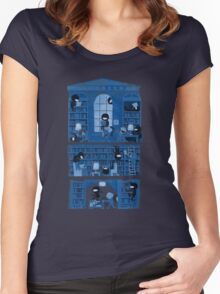 Silence in the Library Women's Fitted Scoop T-Shirt
