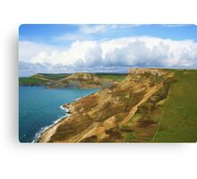 Houns Tout Cliff & Emmetts Hill Canvas Print