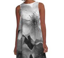 Wild Rose Flowers A-Line Dress