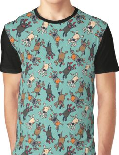 Raining dogs Graphic T-Shirt