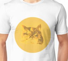 Colorful watercolor of cat Unisex T-Shirt