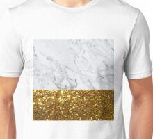 gold marble Unisex T-Shirt