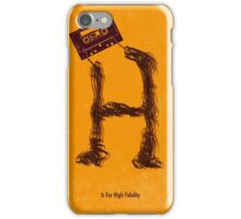 High Fidelity - Tape iPhone Case/Skin