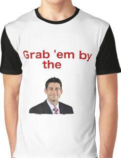 Grab 'em by Paul Ryan Graphic T-Shirt