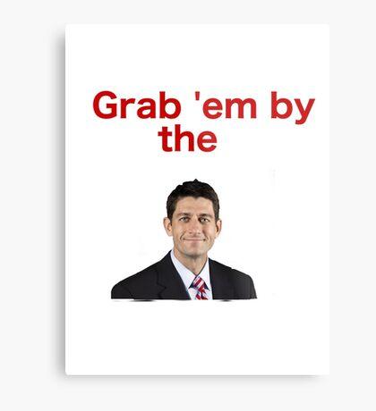 Grab 'em by Paul Ryan Metal Print