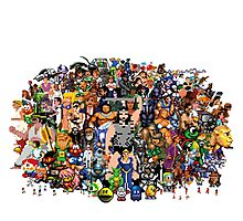 Amiga Game Characters Photographic Print