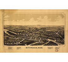 Aerial View of Mittineague, Massachusetts (1889) Photographic Print