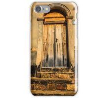 golden door iPhone Case/Skin