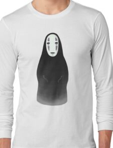 Kaonashi - No Face [Sitting] Long Sleeve T-Shirt