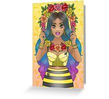 Buzz Buzz Greeting Card