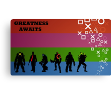 Greatness Awaits Canvas Print