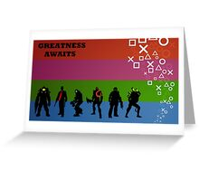 Greatness Awaits Greeting Card