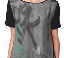 Italian Graffiti  Chiffon Top