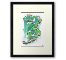 Perpetual World Framed Print