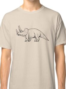 Vintage Triceratops Classic T-Shirt