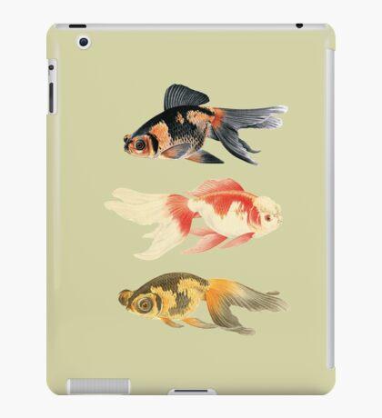 Botanical Fish Trio on Sage iPad Case/Skin