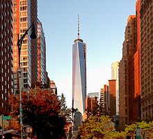 New York City freedom tower by rlnielsen4