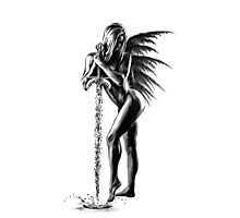 Angel & Sword of Holy Water Photographic Print