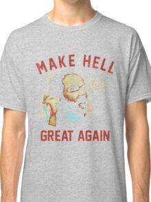 "Mark Sheppard ""Make Hell Great Again""  Classic T-Shirt"