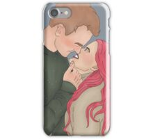 Remus and Tonks No Scars iPhone Case/Skin