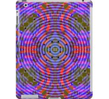 Funky in purple, blue and red iPad Case/Skin