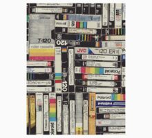 80´S VHS TAPES Kids Tee