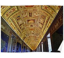 Vatican Room of Maps Ceiling Poster