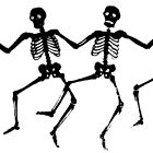 Dancing Skeletons by luckylucy