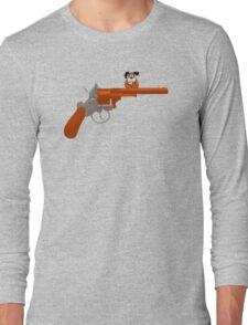 Duck Hunt gun Long Sleeve T-Shirt