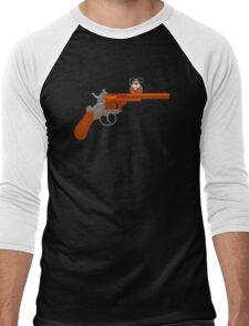 Duck Hunt gun Men's Baseball ¾ T-Shirt