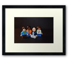 LEGO Peculiar Things Framed Print