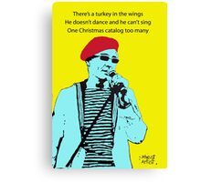 Captain Sensible's Christmas Canvas Print