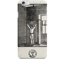 EJERCICIOS PARA ALEJAR LAS TENTACIONES IV (EXERCISES TO KEEP AWAY THE TEMPTATIONS) iPhone Case/Skin