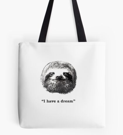 dream sloth Tote Bag