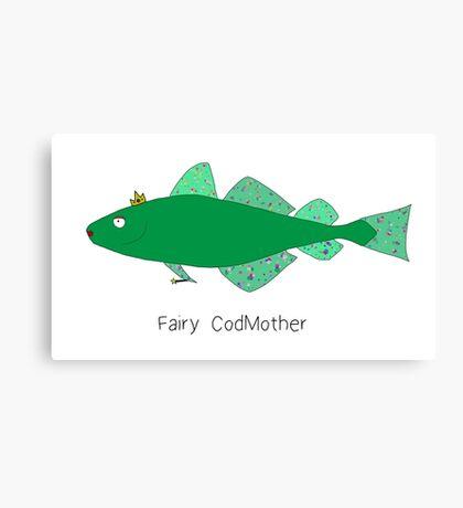 Fairy CodMother Canvas Print