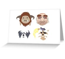 Should You Need Us - Labyrinth Art Greeting Card