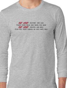 Ashy Slashy Long Sleeve T-Shirt