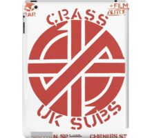 Old Crass Flyer iPad Case/Skin
