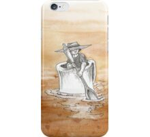 Coffee, Coffee Everywhere and Not a Drop to Drink iPhone Case/Skin
