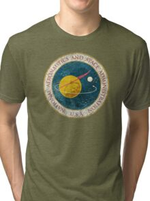 NASA Vintage Seal Tri-blend T-Shirt