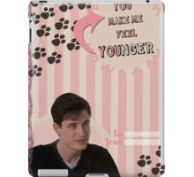 My Teenwolfed Valentine [You Make Me Feel Younger] iPad Case/Skin