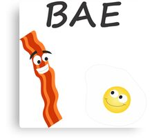 BAE Bacon and Eggs Canvas Print