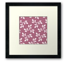modern,trendy,floral,flowers,pink,red,cute,girly,decorative,girly Framed Print