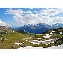 Grossglockner road in Austria Photographic Print