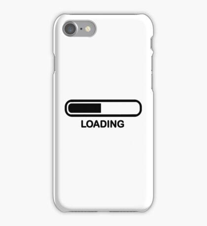 Loading bar iPhone Case/Skin
